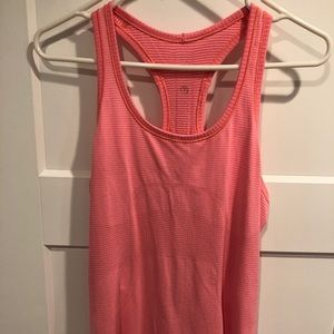 Lulu lemon pink tank top